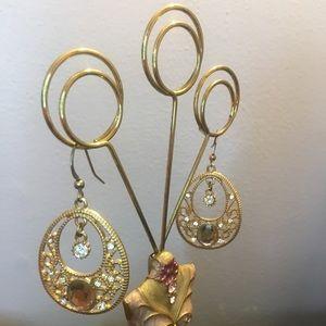 Jewelry - Gold-tone Drop Earrings